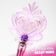 Large Light Up Princess Heart Wand Wholesale 10 Pink