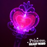 Large Light Up Princess Heart Wand Wholesale 4