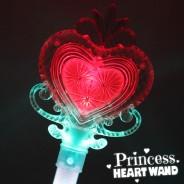 Large Light Up Princess Heart Wand Wholesale 7