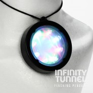 Light Up Infinity Tunnel Pendant 3