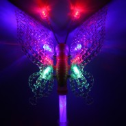 Light Up Butterfly Wand Large 2