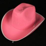 Flashing Pink Cowboy Hat 3