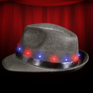 Light Up Fedora Hat Wholesale 1