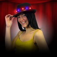 Light Up Fedora Hat 4