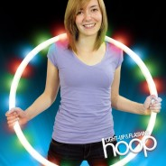 Light Up and Flashing Hoop Wholesale 1