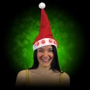 Flashing Santa Hat 4