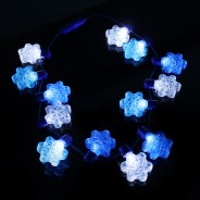 Light Up Snowflake Necklace 4