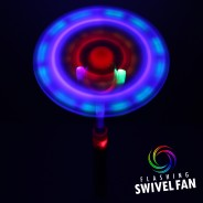 Light Up Swivel Fan 4