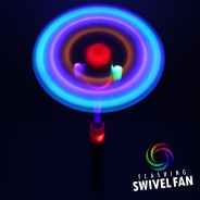 Light Up Swivel Fan 7