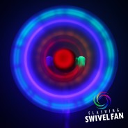 Light Up Swivel Fan 5