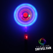 Light Up Swivel Fan 6