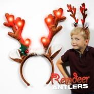 Reindeer Antler Headband Wholesale 5