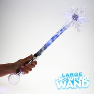 Large Flashing Snowflake Wand Wholesale 13