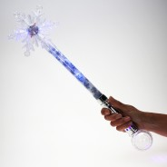 Large Flashing Snowflake Wand Wholesale 11