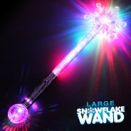 Large Flashing Snowflake Wand Wholesale 17