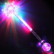 Large Flashing Snowflake Wand Wholesale 15