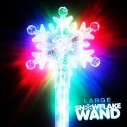 Large Flashing Snowflake Wand Wholesale 20