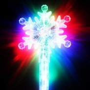 Large Flashing Snowflake Wand Wholesale 19