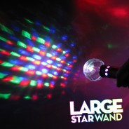 Large Light Up Star Wand 8