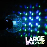 Large Flashing Star Wand Wholesale 8