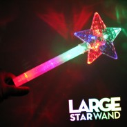 Large Light Up Star Wand 2