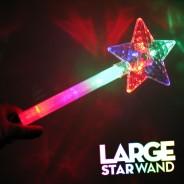 Large Flashing Star Wand Wholesale 2