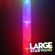 Large Light Up Star Wand 10