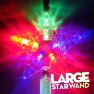 Large Flashing Star Wand Wholesale 4