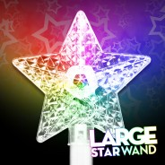 Large Light Up Star Wand 5