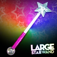 Large Light Up Star Wand 3