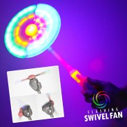 Light Up Swivel Fan 3