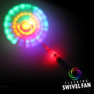 Light Up Swivel Fan 2
