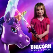 Light Up Unicorn Sword 1