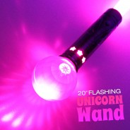 "20"" Flashing Unicorn Wand Wholesale 5"