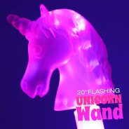 "20"" Flashing Unicorn Wand Wholesale 4"
