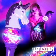Light Up Unicorn Spinner 1
