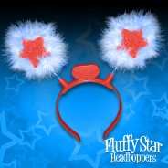 Furry Star Head Boppers 3