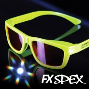 FX Spex Deluxe Rainbow Glasses 2 Burst