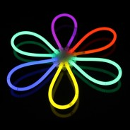 Glow Bracelets 4 Glow flower made with one ball connector