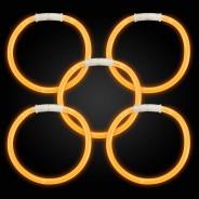 Glow Bracelets 11 Orange glow bracelets
