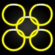 Glow Bracelets 13 Yellow glow bracelets