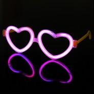 Glow Heart Eyeglasses 1
