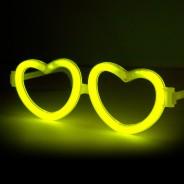 Wholesale Glow Heart Eyeglasses 3