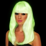 Glow in the Dark Glam Wig 1