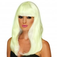 Glow in the Dark Glam Wig 2