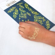 Glow in the Dark Hand Tattoos 2