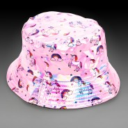 Pink Holographic Unicorn Hat 1