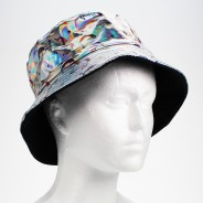 Silver Holographic Unicorn Hat 3