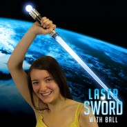 Light Up Laser Sword with Ball Wholesale 2