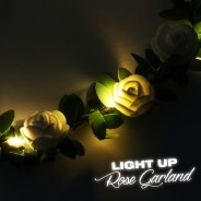 LED Rose Garland 4